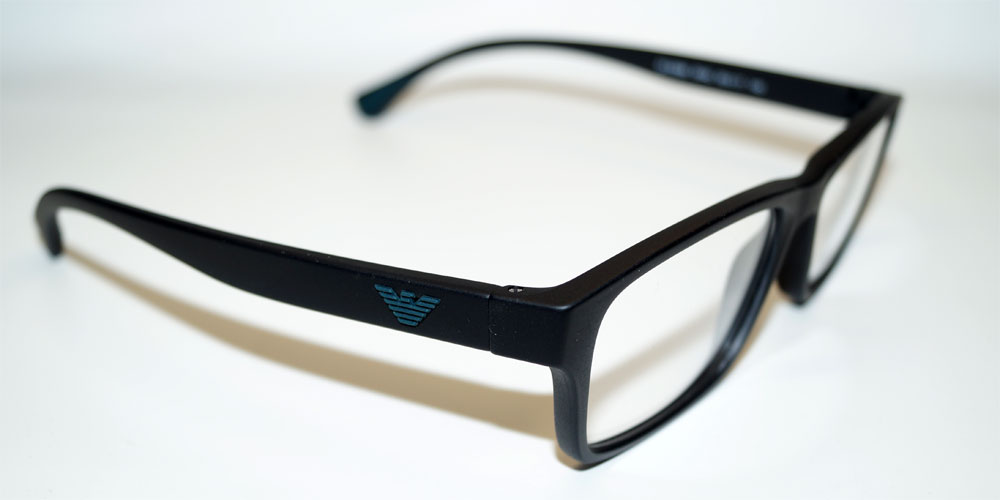 EMPORIO ARMANI Brillenfassung Brillengestell Eyeglasses Frame EA 3088 5042 Gr.55