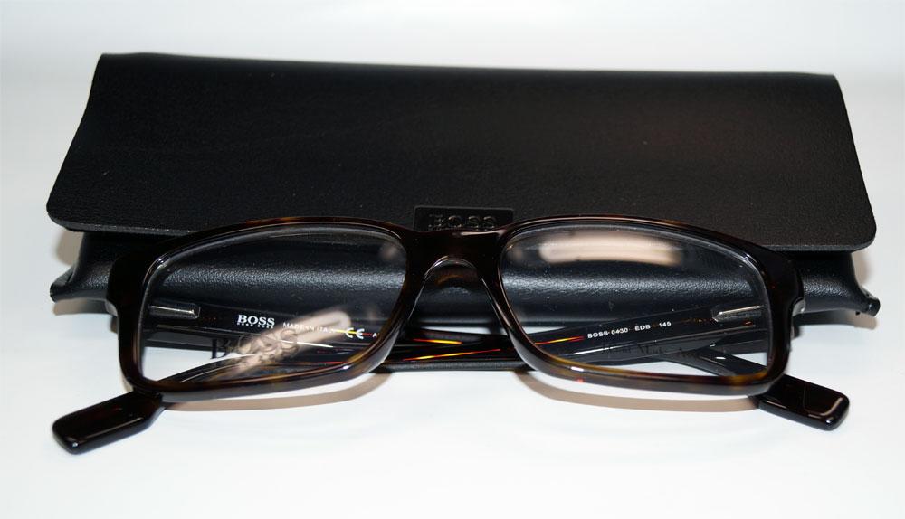 HUGO BOSS Brillenfassung Brillengestell Eyeglasses Frame BOSS 0430 EDB