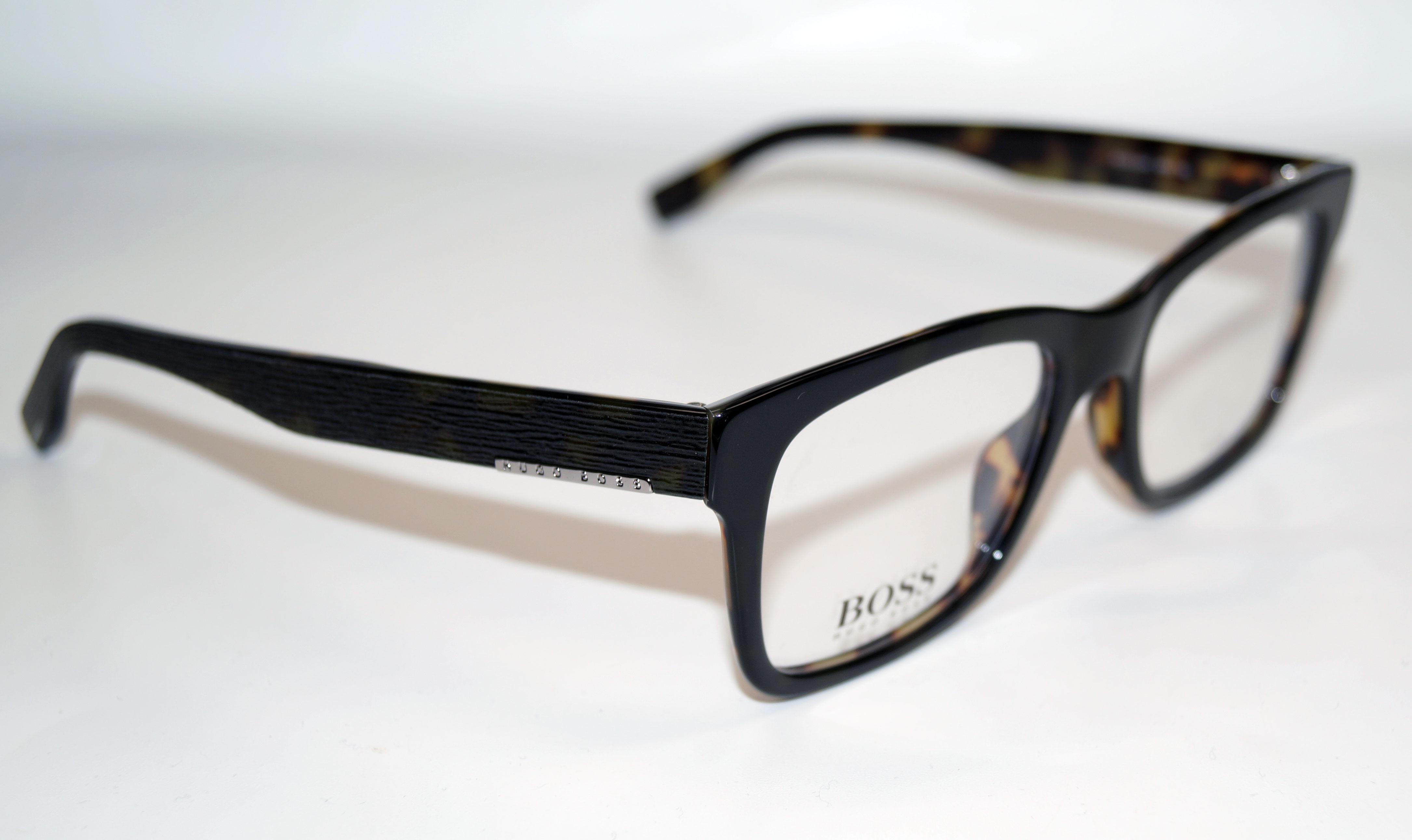 HUGO BOSS Brillenfassung Brillengestell Eyeglasses Frame BOSS 0641 HRM