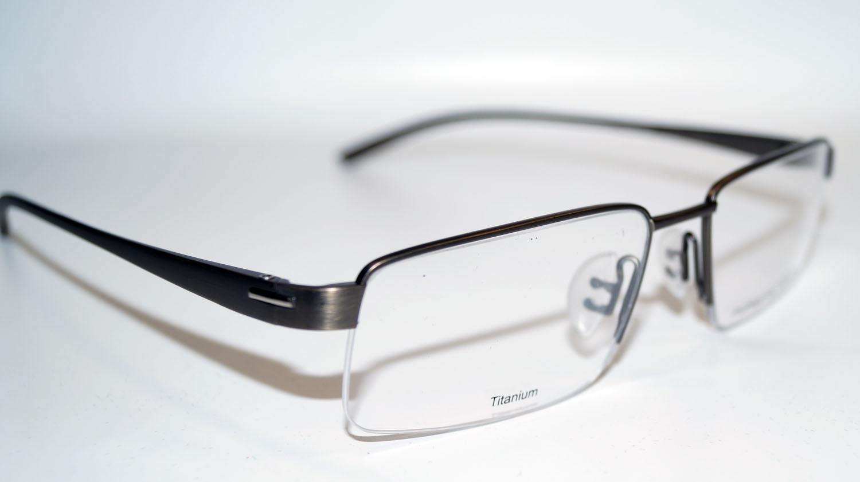 PORSCHE Brillenfassung Brillengestell Eyeglasses Frame P8160 E E91 Titanum
