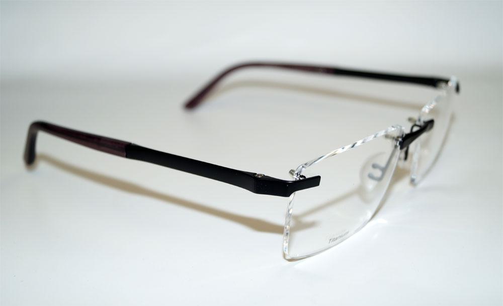 PORSCHE Brillenfassung Brillengestell Eyeglasses Frame P8252 E E87 Titanium