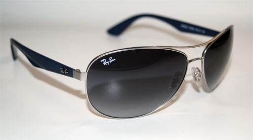 RAY BAN Sonnenbrille Sunglasses RB 3526 019/8G Größe 63