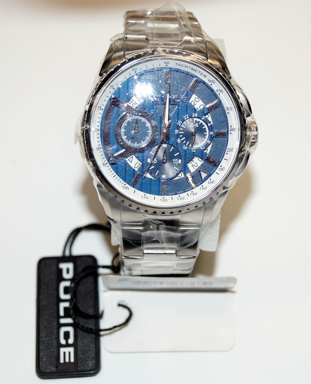 Police PL 13648 MS03 - Herren Armbanduhr - Mens Watch Chronograph