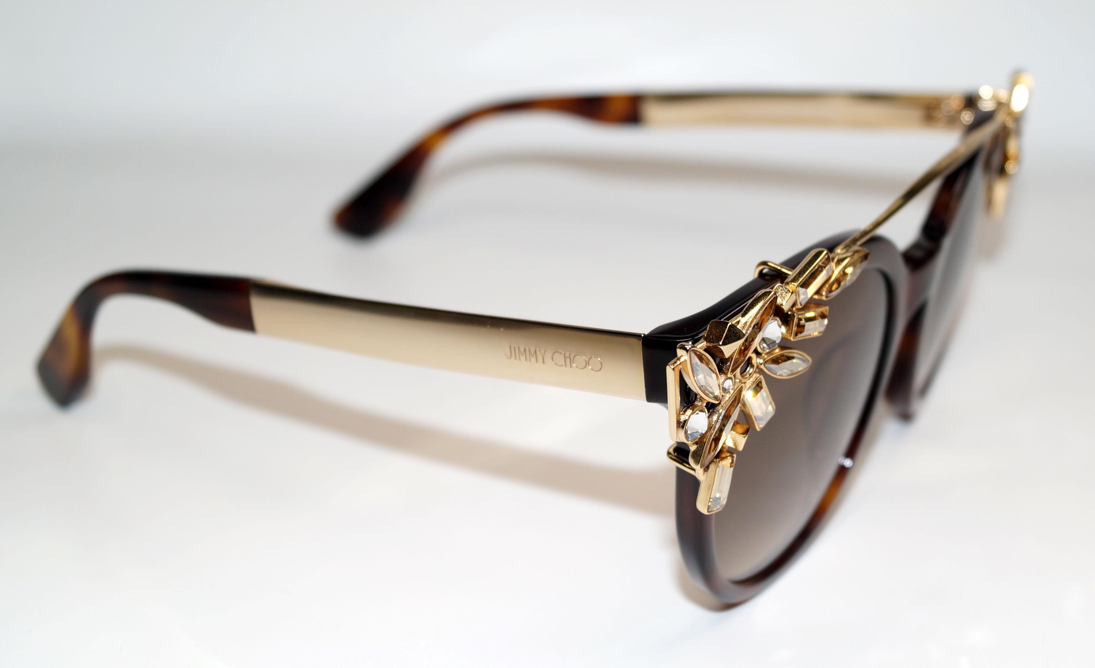 JIMMY CHOO Sonnenbrille Sunglasses VIVY BHZ JD