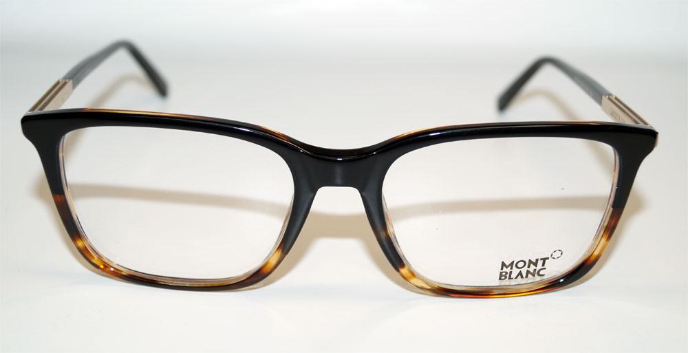 MONT BLANC Brillenfassung Brillengestell Eyeglasses MB 0544 005