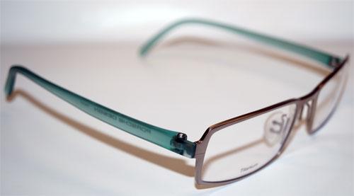 PORSCHE Brillenfassung Brillengestell Eyeglasses Frame P8145 F E87 Titanum