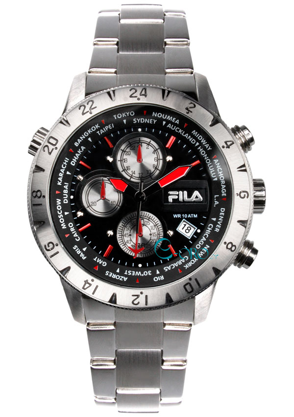 FILA Uhr 38-001-001- Herrenuhr - Mens Watch - Chronograph